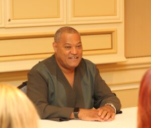 Laurence Fishburne and His Love for Comic Books